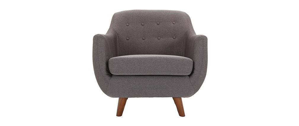 Sillón diseño gris antracita YNOK