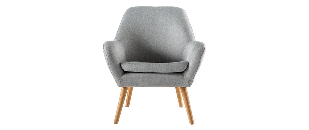 Sillón diseño gris claro MIRA