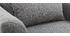 Sillón diseño tejido gris y y roble KATE