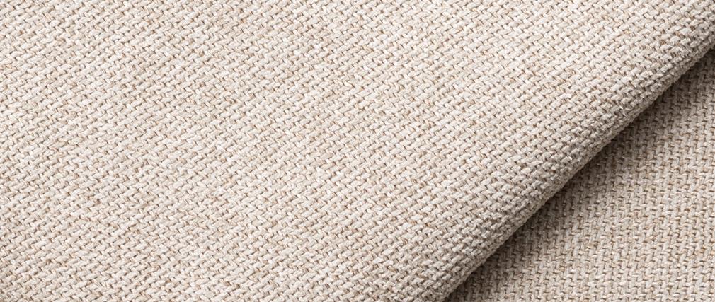 Sillón doble moderno en tejido beige PLURIEL
