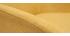 Sillón en tejido efecto terciopelo amarillo mostaza MAYNE