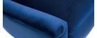 Sillón en terciopelo azul ADAM