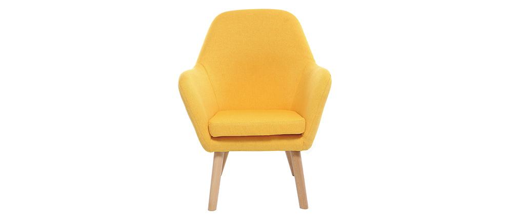 Sillón infantil diseño amarillo BABY MIRA