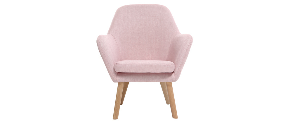 Sillón infantil diseño rosa BABY MIRA