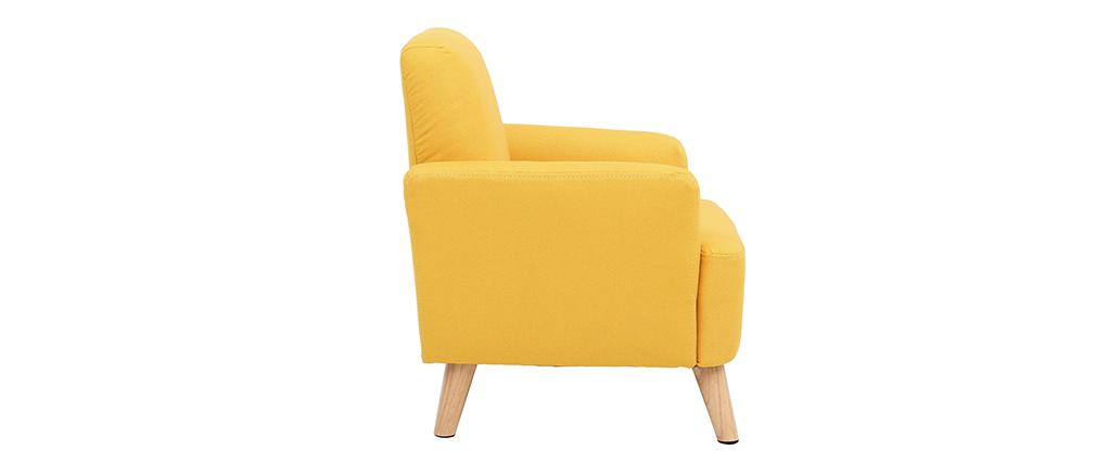 Sillón infantil nórdico amarillo BABY ISKO
