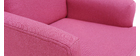 Sillón infantil nórdico rosa BABY ISKO