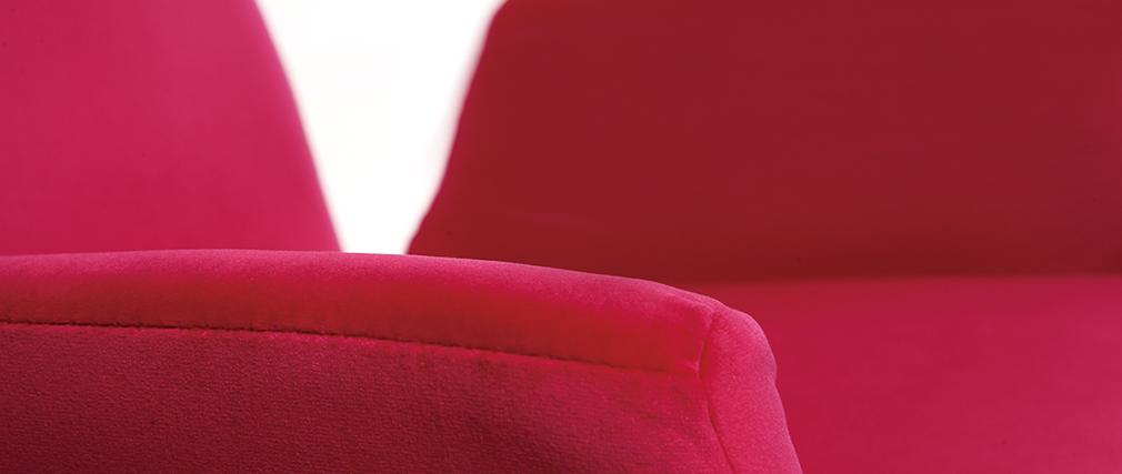Sillón infantil pivotante rosa SOLLY