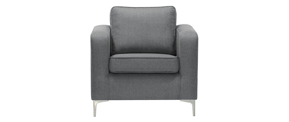 Sillón moderno gris claro HARRY