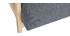 Sillón nórdico gris y madera clara ABYSS