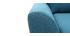 Sillón nórdico tejido azul petróleo ALICE