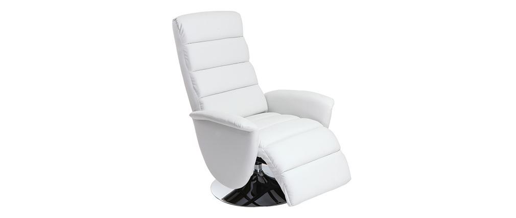 Sillón relax manual blanco NELSON