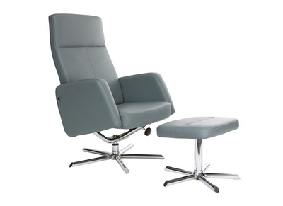 Rebajas sill n relax miliboo miliboo for Sillon relax gris