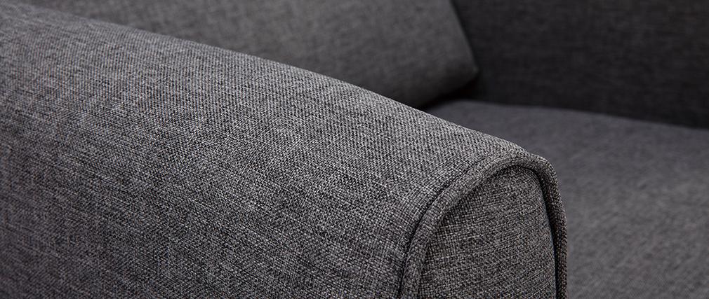 Sillón tejido gris oscuro VIVO