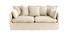 Sofá 3 plazas desenfundable en lino color natural MERLIN