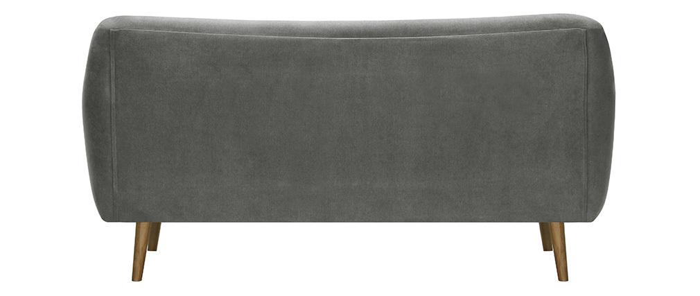 Sofá 3 plazas tejido gris ABSOLUTE