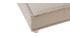 Sofá cama 3 plazas en tejido natural y madera SHANTI