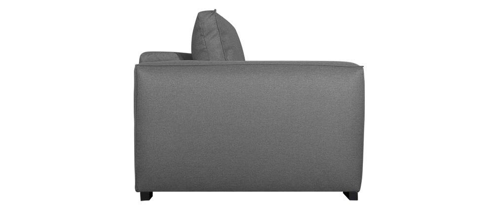 Sofá convertible 3 plazas gris BOLI