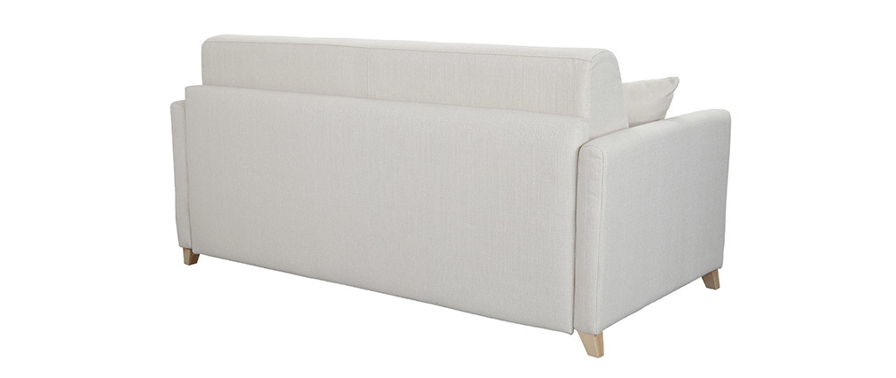 Sofá convertible 3 plazas nórdico beige SKANDY