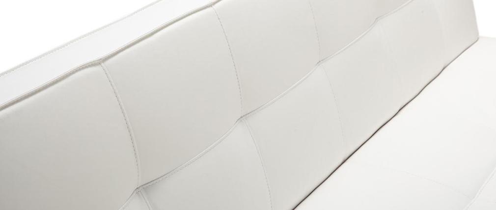 Sofá convertible de diseño blanco CHARLESTON