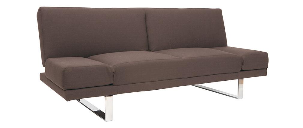 Sofá convertible de diseño marrón ATLANTA
