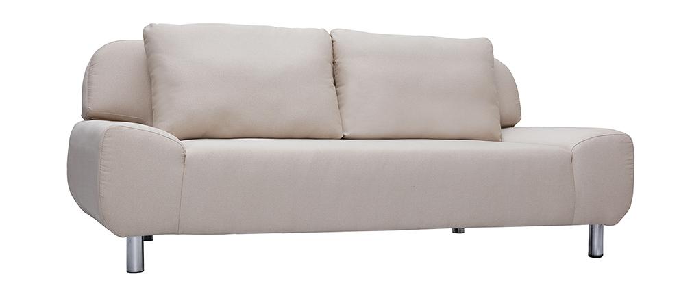 Sofá convertible de diseño natural TULSA
