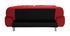Sofá convertible de diseño rojo TULSA