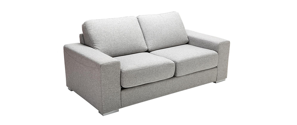 Sofá convertible diseño gris RAPIDO HAMILTON