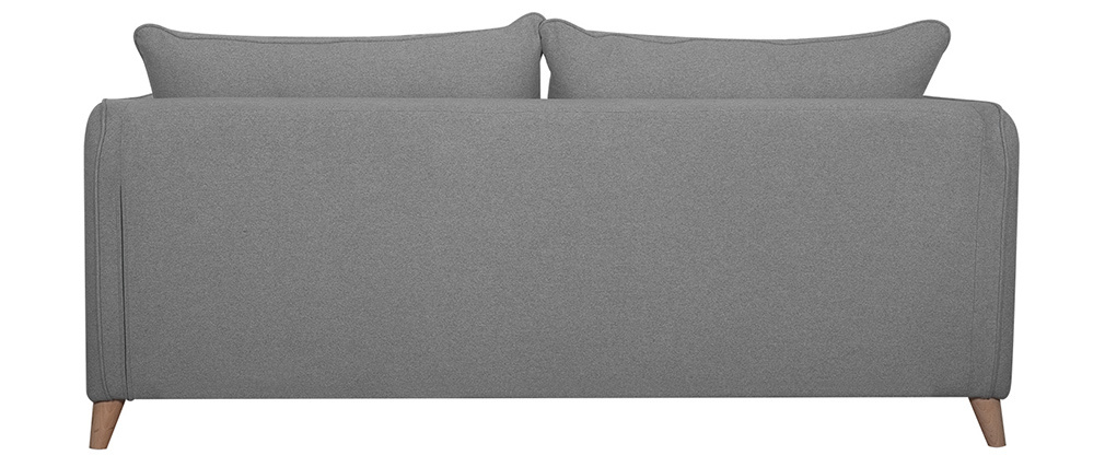 Sofá convertible nórdico 3 plazas gris claro GUILTY