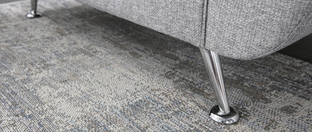 Sofá de diseño 2 plazas gris PURE