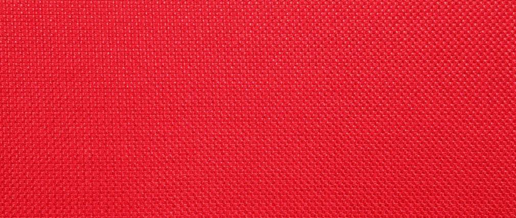 Sofá de diseño 2 plazas rojo PURE