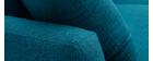 Sofá de esquina derecha nórdico azul petróleo CODDY