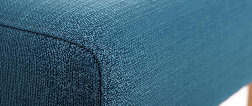 Sofá de esquina  reversible diseño azul OSCAR
