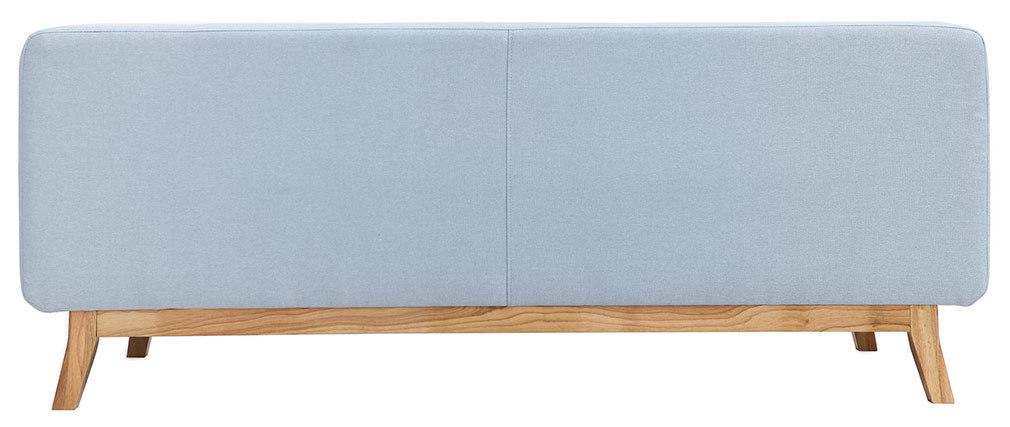Sofá diseño 2-3 personas azul VILA