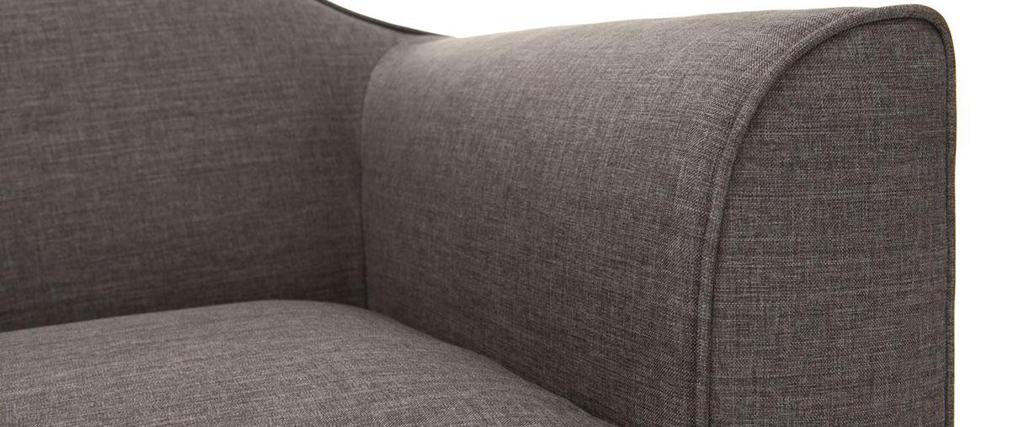 Sofá diseño 2 plazas gris SOVHA