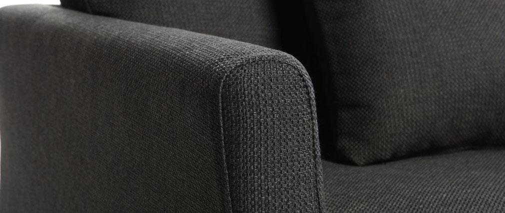Sofá diseño 3 plazas diseño gris VOLUPT