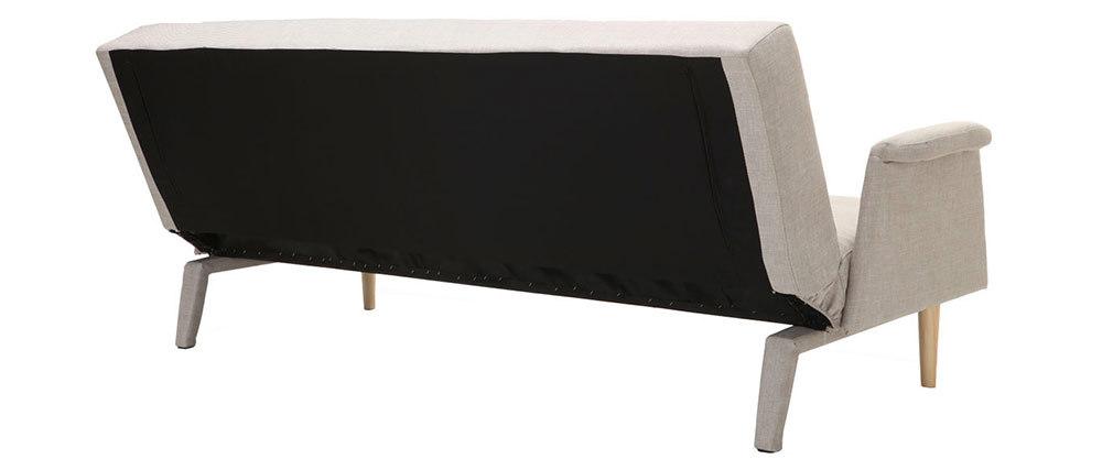 Sofá diseño convertible natural OSCAR
