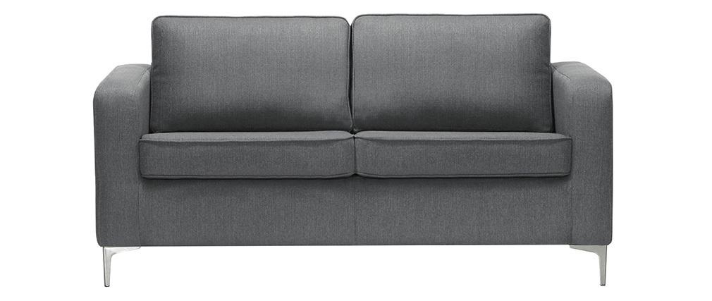 Sofá moderno 3 plazas gris claro HARRY