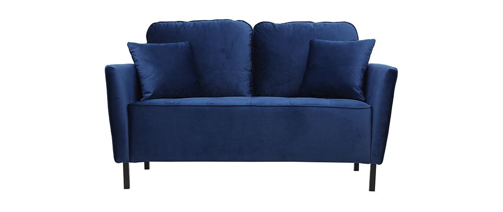 Sofá moderno en terciopelo 2 plazas BEKA
