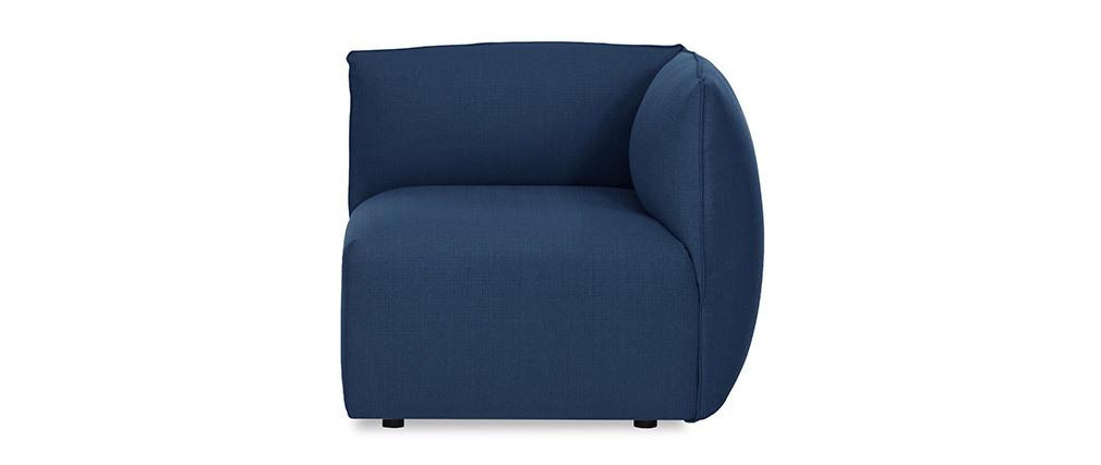 Sofá moderno modulable azul oscuro 3 plazas MODULO