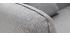 Sofá moderno tejido gris claro 3 plazas MOONLIGHT