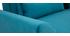 Sofá nórdico 3 plazas terciopelo azul petróleo EKTOR