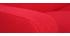 Sofá nórdico tejido rojo 3 plazas LUNA