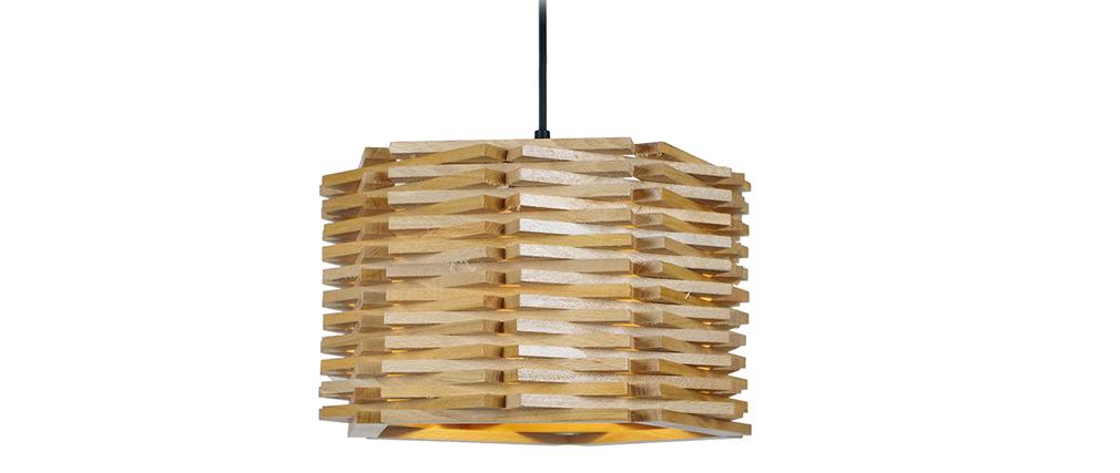 Suspensión diseño en madera PENTA