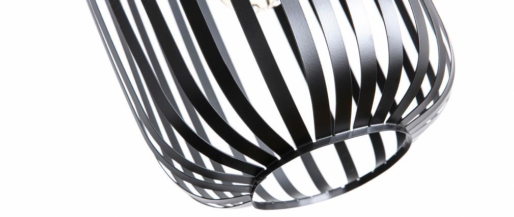 Suspensión diseño metal negra ALVEOL