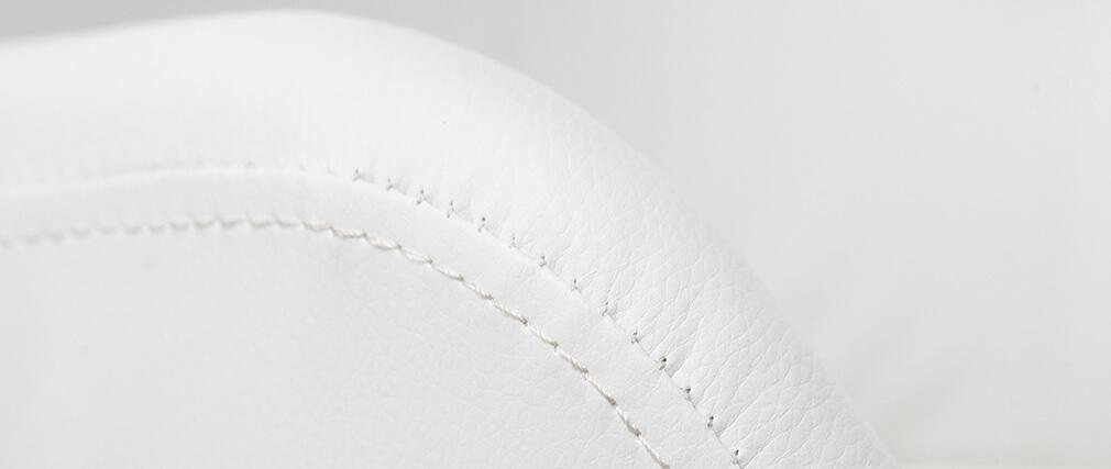 Taburete de bar diseño blanco JESSY