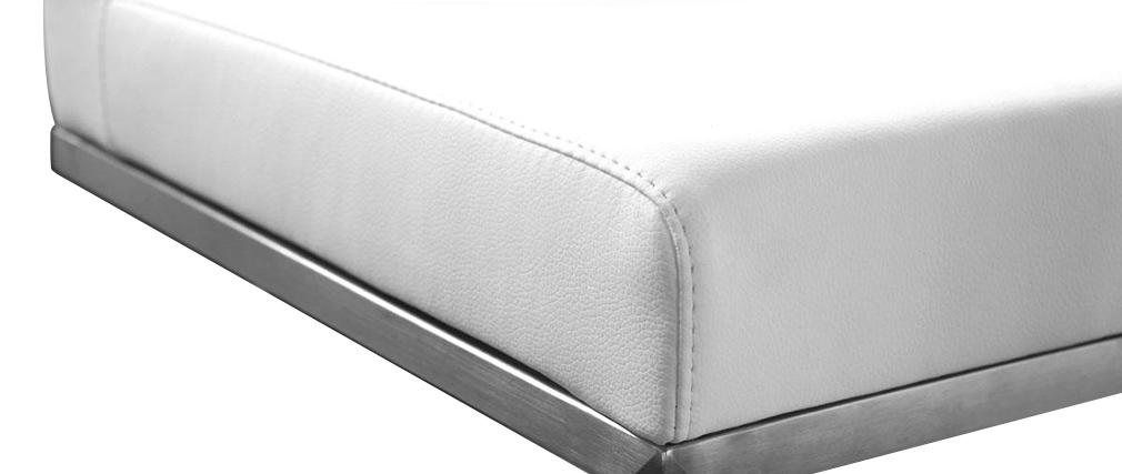 Taburete de bar diseño blanco OMEGA