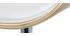 Taburete de bar diseño blanco y madera clara BENT