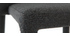 Taburete de bar diseño gris lote de 2 KARLA