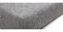 Taburete de bar diseño metal y tejido gris oscuro 66cm lote de dos HALEY