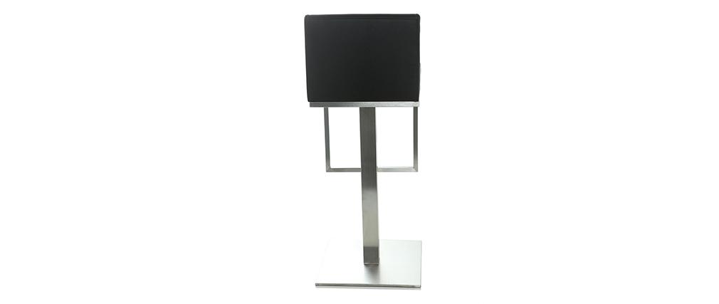Taburete de bar diseño negro OMEGA